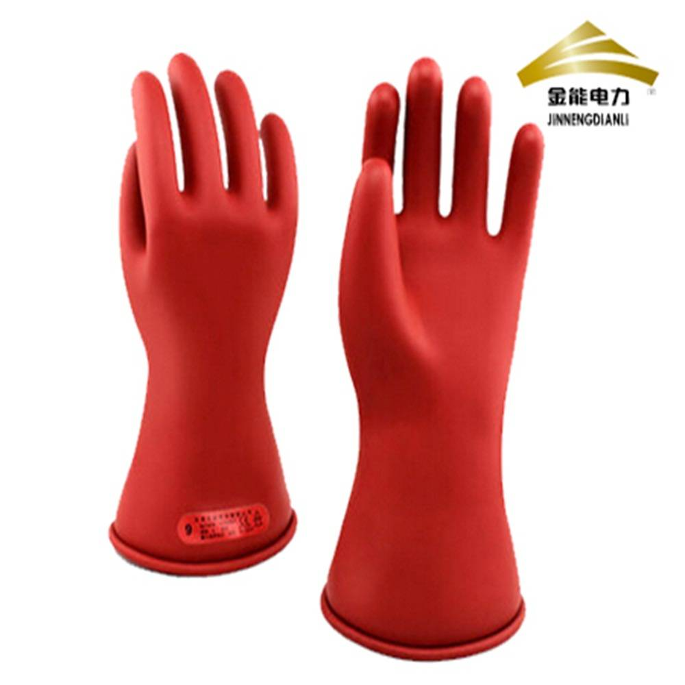 rubber electrical insulating safety gloves