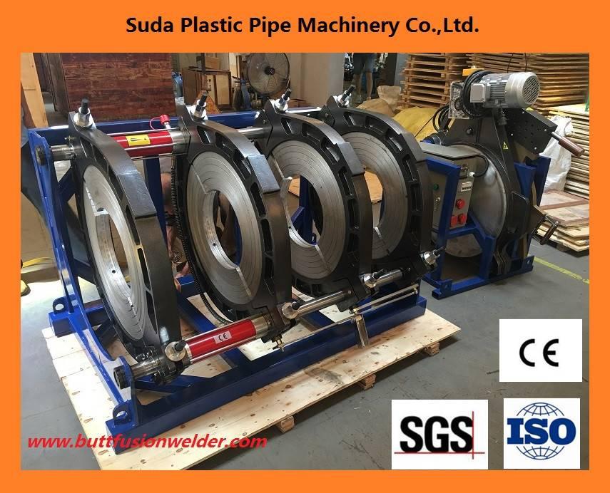 SUD450H hdpe pipe welding machine