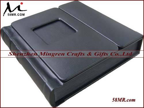 Leather self-adhesive Peel and stick album