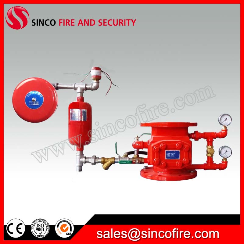 Fire Wet Alarm Valve for Fire Fighting Equipment