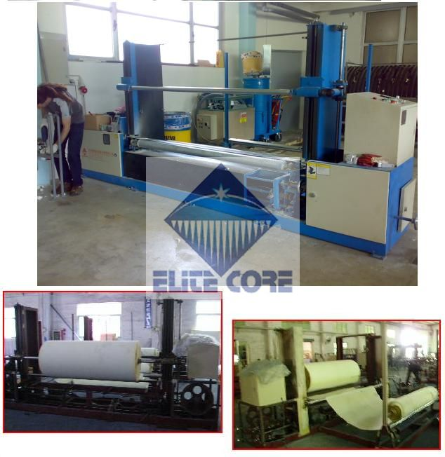 PLC touch screen automatic foam peeling machine