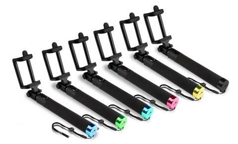 new generation luxuy Wireless Bluetooth flexible Selfie Stick Monopod