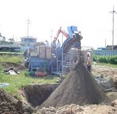 Eco road soil construction friendly technical engineering improvement