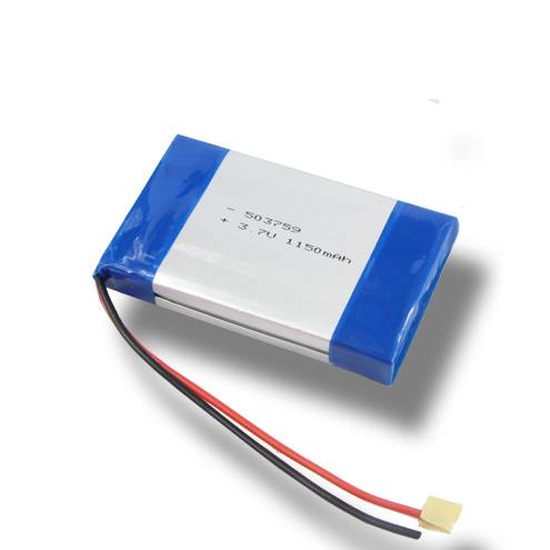 Low temperature polymer battery