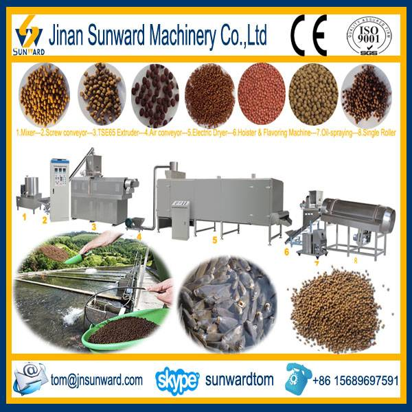 Floating Fish Feed Making Machinery