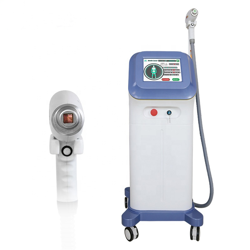 Newest Non Channel 755nm 808nm 1064nm 3 Wavelength Diode Laser Hair Removal Machine