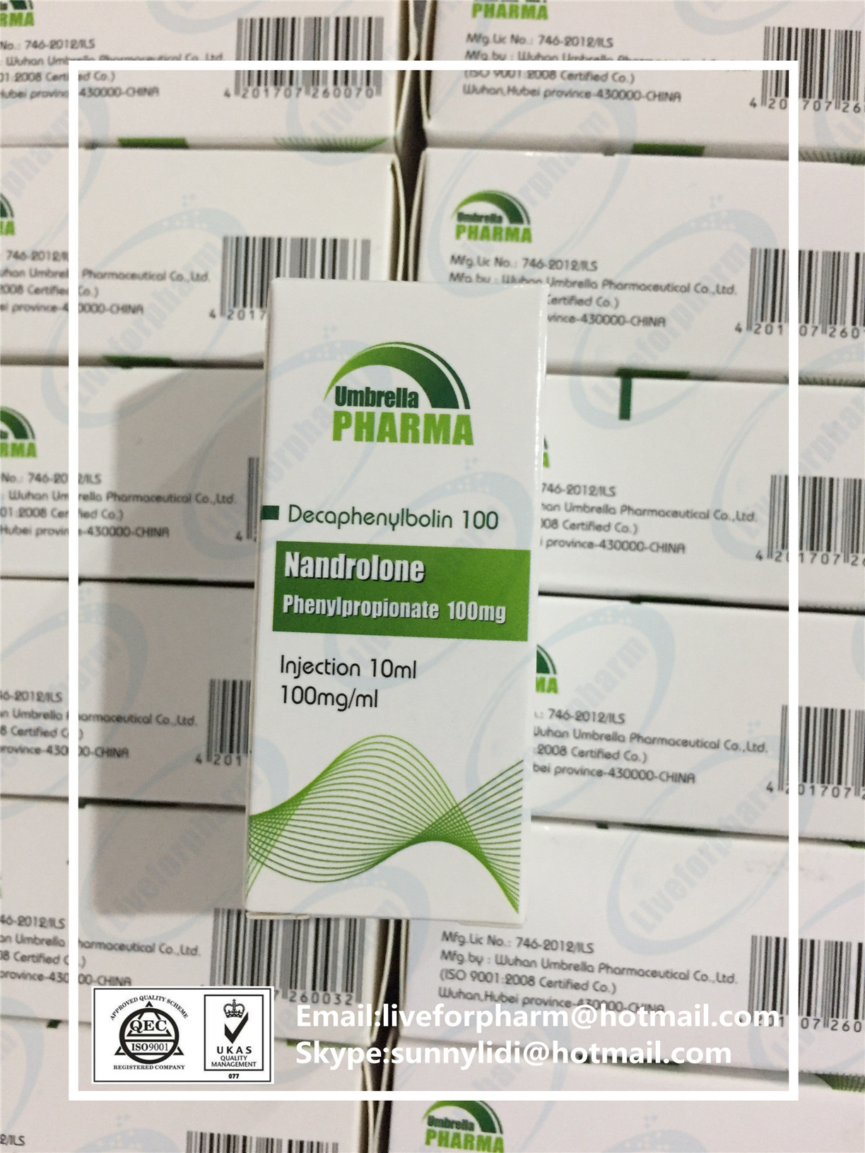 Nandrolone Phenylpropionate 100mg Injectable Finished Steroid Oil Npp 100mg 98.8% above purity