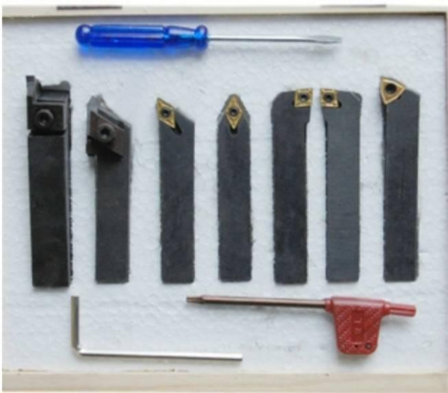 High Quality Carbide Brazed Tools /Turning Toolsmanual Turning Tool (Set 7PCS/Set) /Metal Cutting To