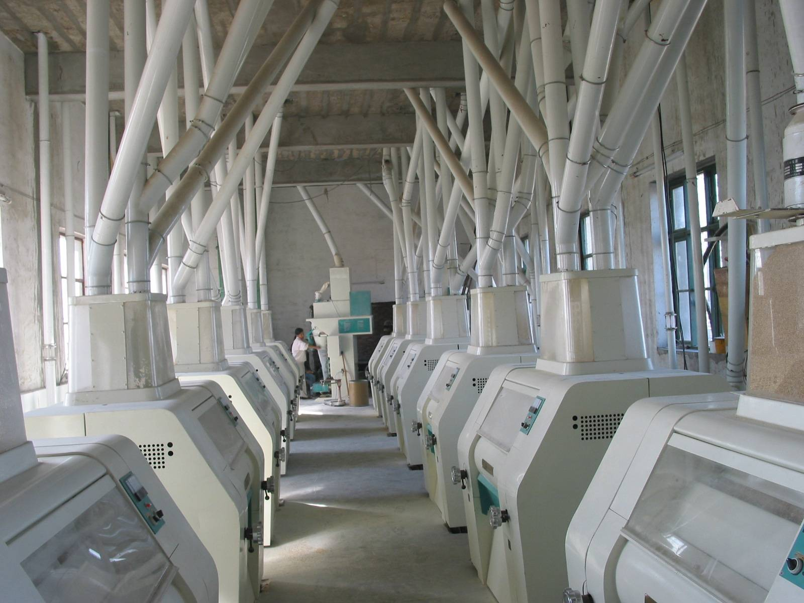 150mt per day wheat flour milling machinery
