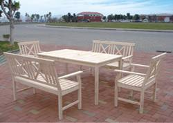 wooden tables and chairs(DDF-7677)