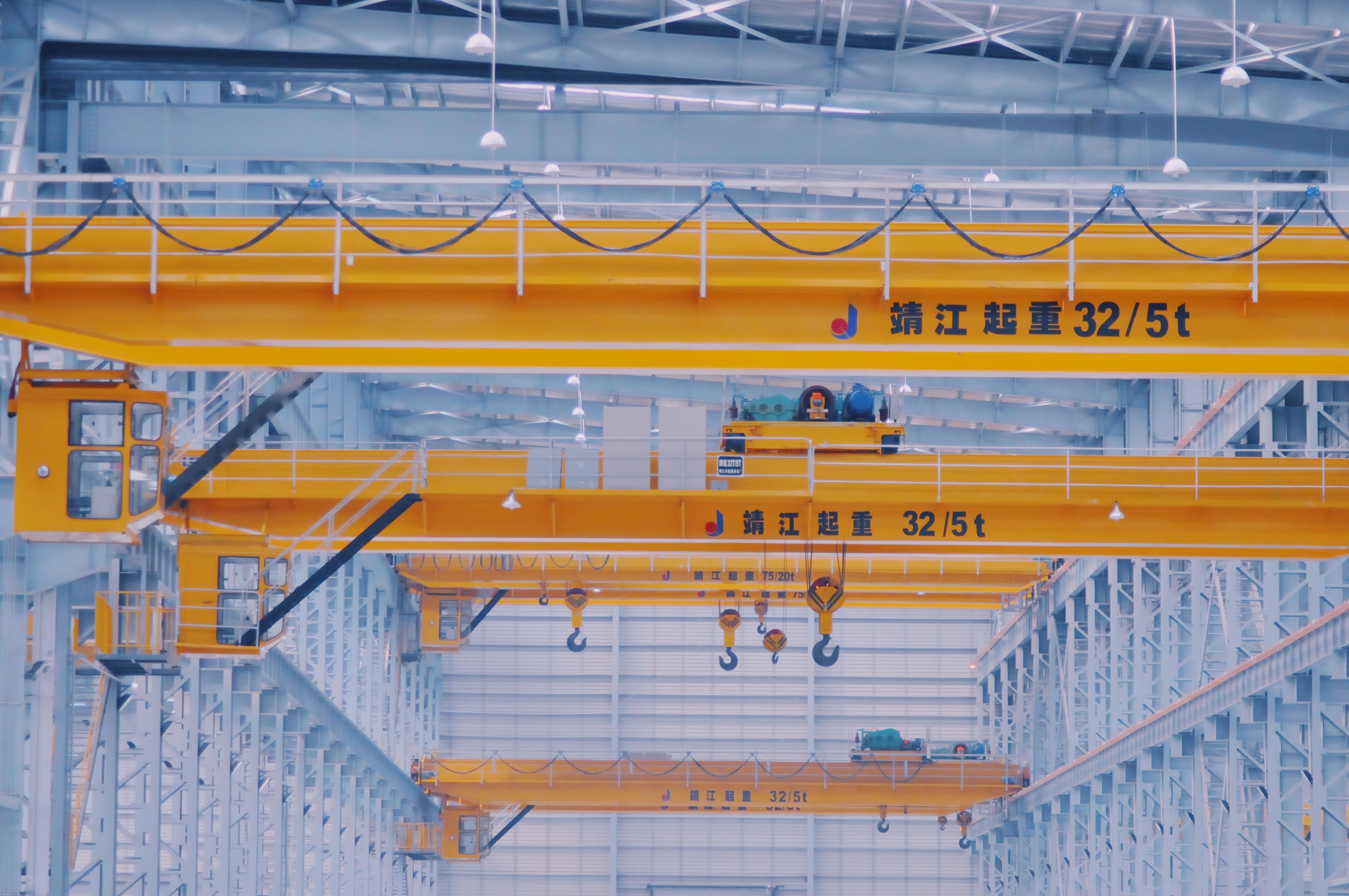 Overhead Crane Bridge Crane Double Girder Top Running Overhead Crane (20~300t)