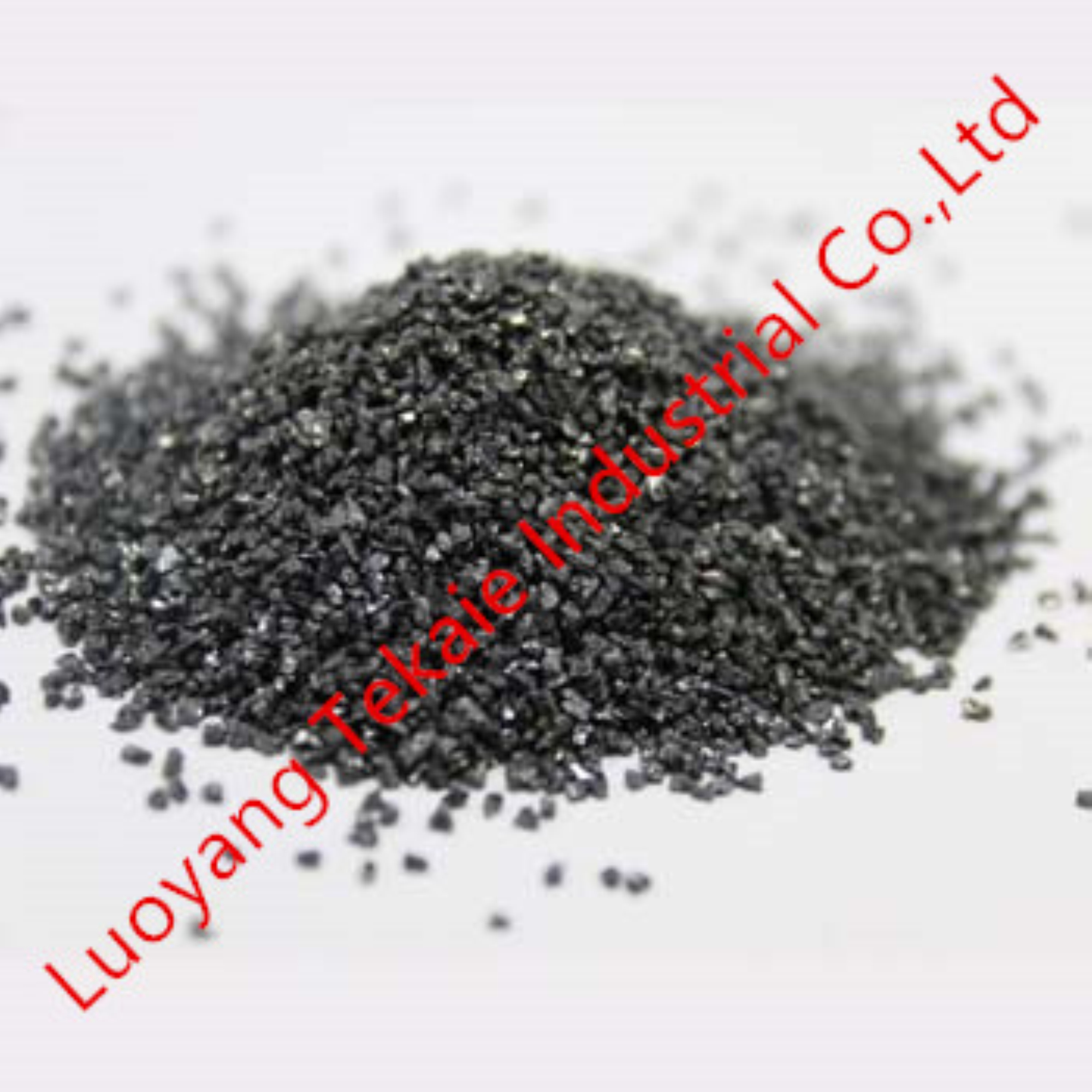 Black silicon carbide for abrasives
