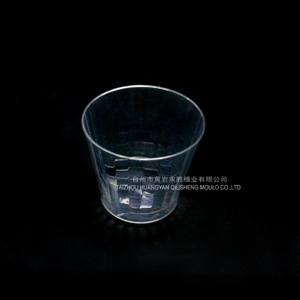PS round transparent juice cup container plastic mould