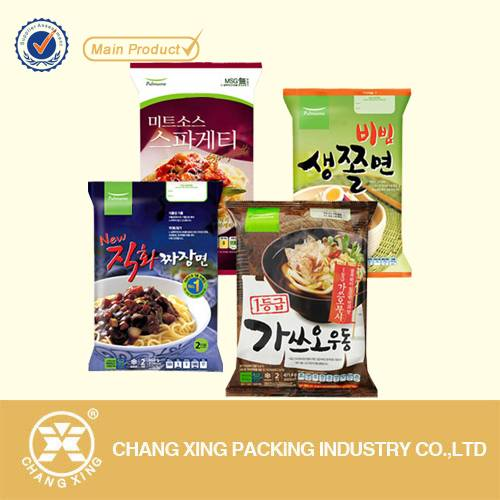 Factory price custom flexible printing Plastic Instant noodles packaging bags
