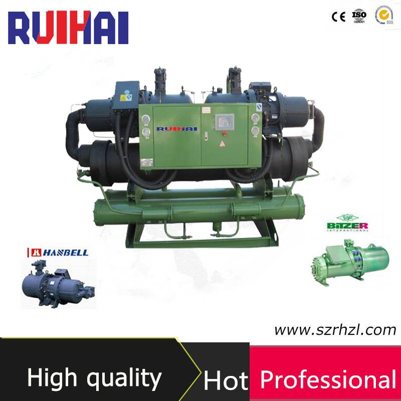 double compressor water screw chiller