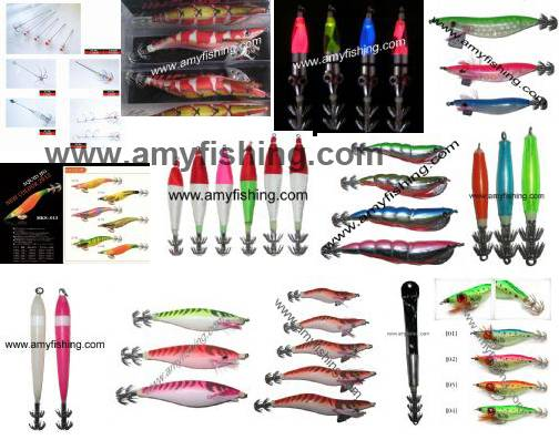 fishing squid jig, squid hook, fishing lure