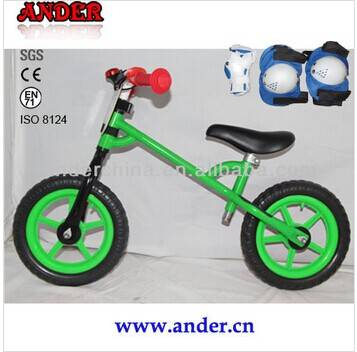 2014 first bike for children with knee pad (Accept OEM service)
