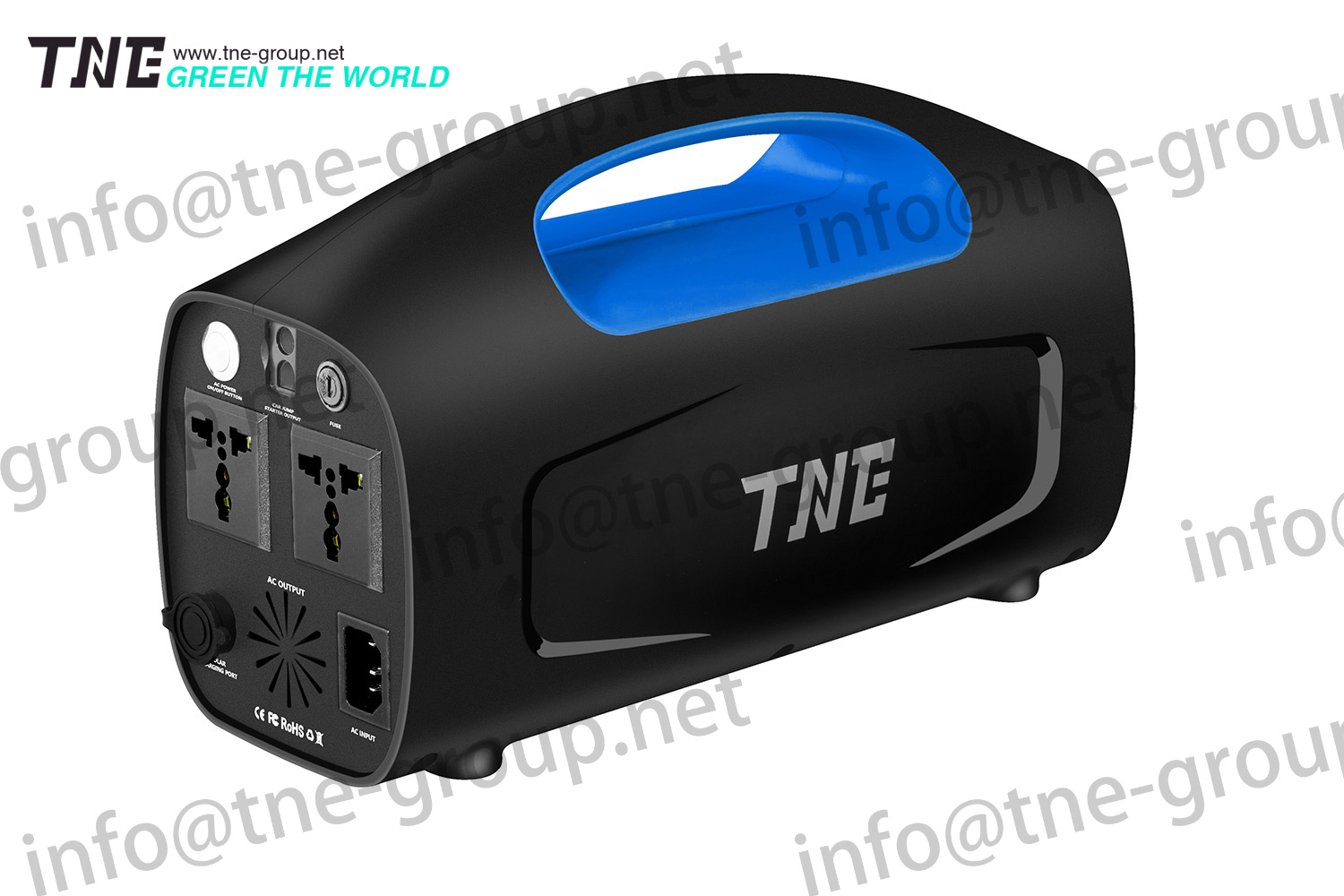 TNE Short circuit protection ups and inverters ups with VOP protection