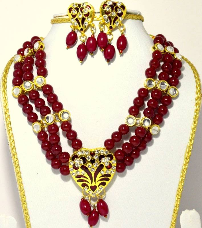 Indian Rajwadi necklace
