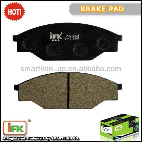 GDB351 04465-YZZ56 04491-26070 Toyota Hiace ceramic brake pad replacement
