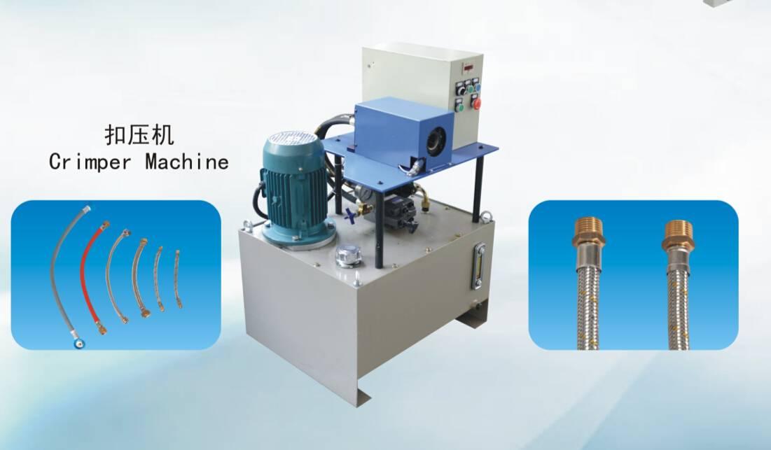 crimper machine for plumbing hose