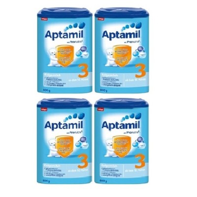 German made APTAMIL milk powder all stages available