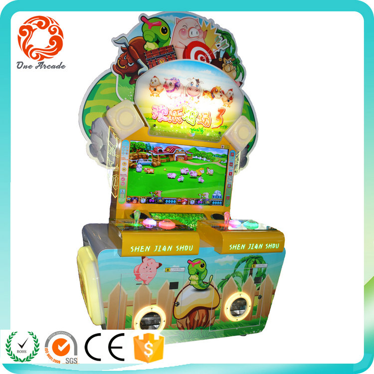 factroy outlet coin operated amusement kids loved lottery game machine