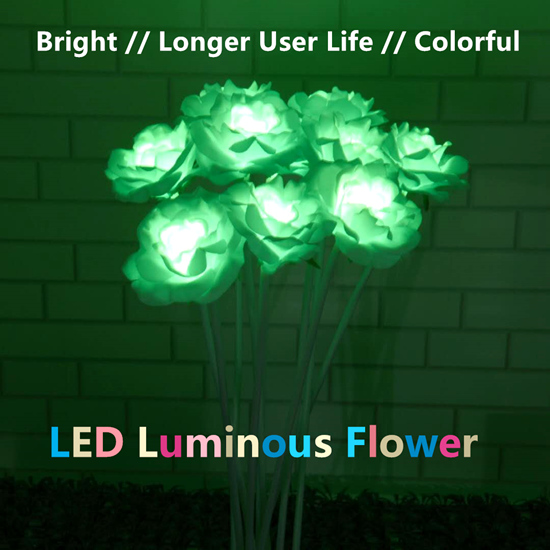 LED Luminous Synchronous Flower Decoration Display