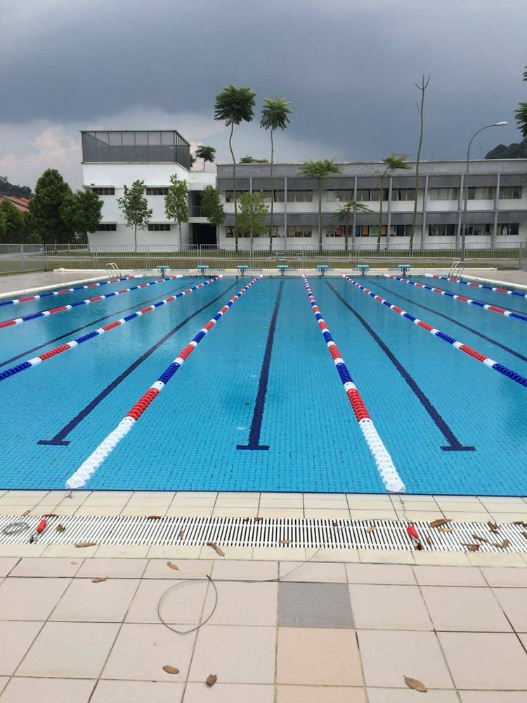 wholesale price plastic anti-wave swimming pool float lane rope