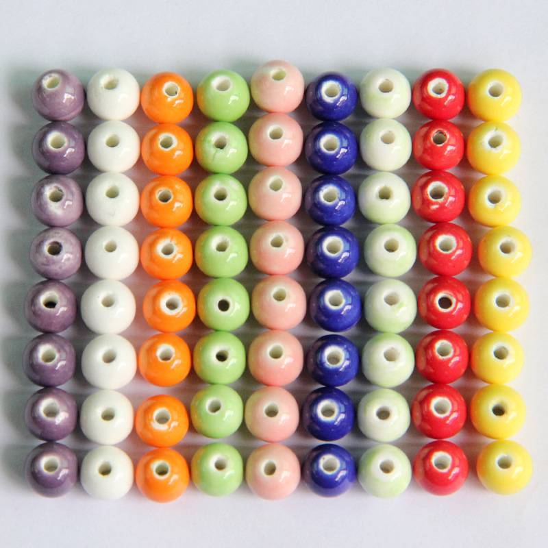 Colorful Ceramic Beads(8mm)