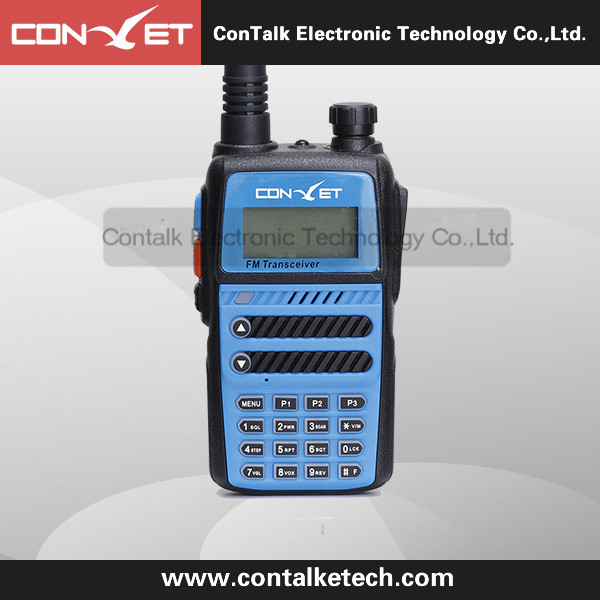 ContalkeTech Dual Band 2 Way Radio CTET-5818D UHF 400-470MHz and VHF 136-174MHz 128 CH VOX TCTSS/DCS