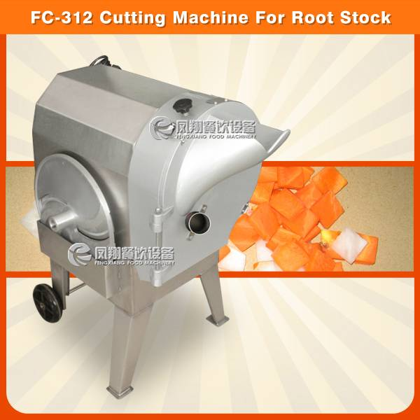FC-312 carrot slicing/dicing/shredding machine