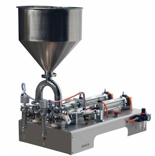 Two Head Paste Filling Machine