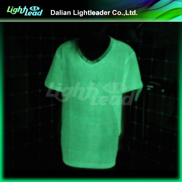 luminescent t shirt for club, party, bar, team
