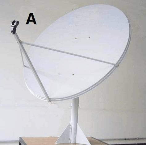 TDT ku-band satellite dish antenna 100cm with low price high quality