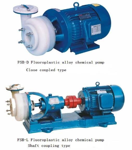 FSB Series fluoroplastic chemical pump