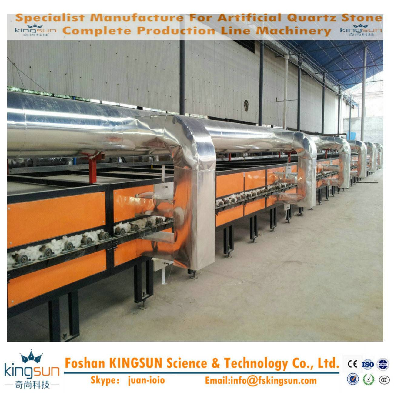 Quartz Stone Solidifying Kiln/quartz stone machine