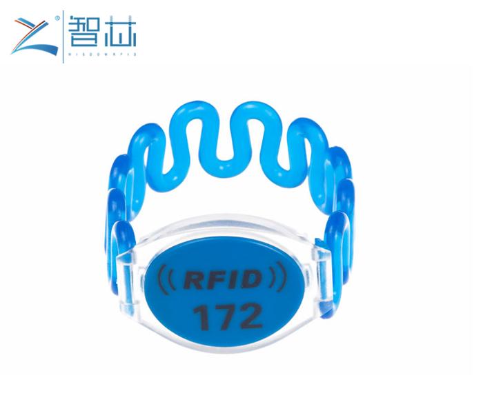Spa Club Membership RFID Plastic Wristband
