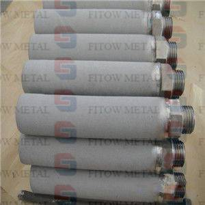Titanium(TI) powder Sintered 10 micron filter cartridge
