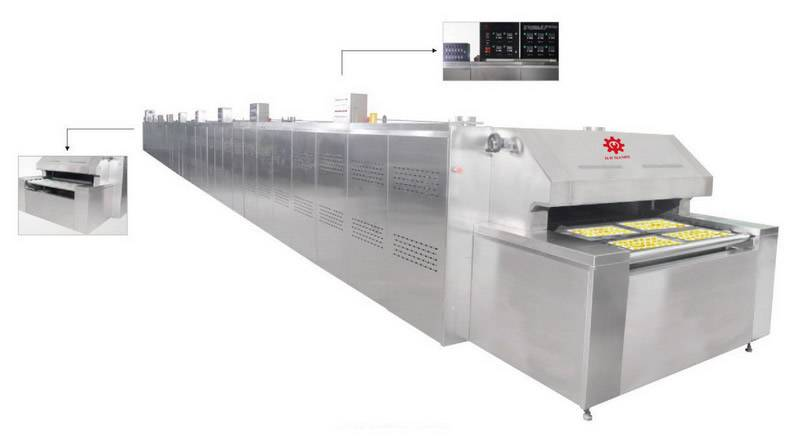 Direct Fired Baking Tunnel Oven