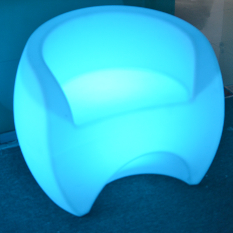 Multi Color Controller Waterproof LED Chair With Battery