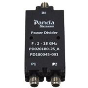 2-18 GHz 2-way Power Dividers