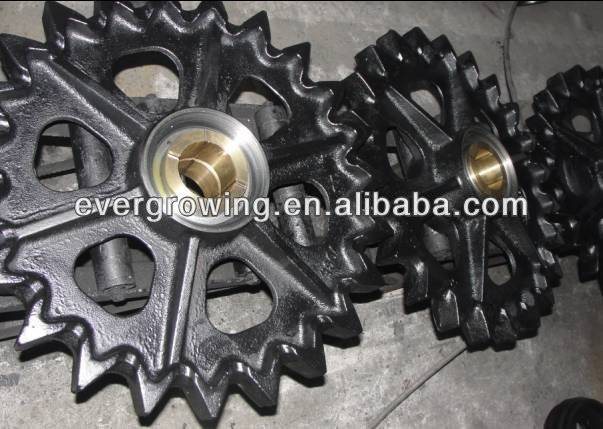 KOBELCO P&H7150 sprocket undercarriage part
