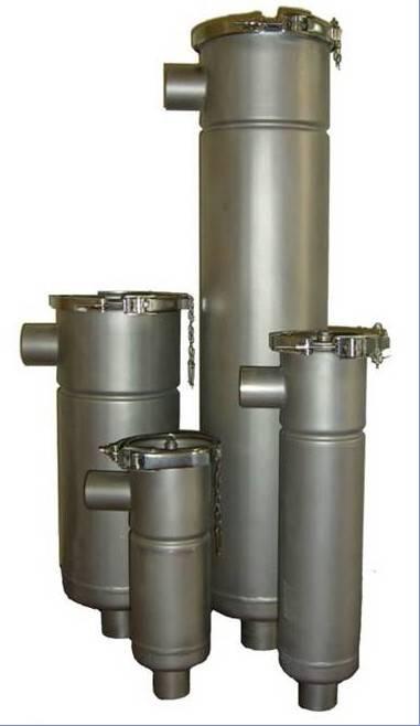 filter housing, bag filter housing, filter bag