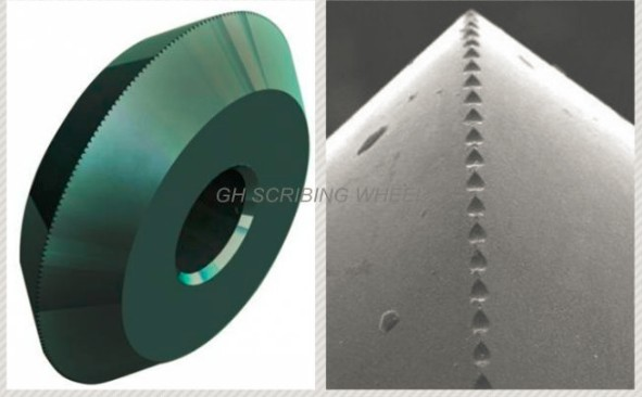 Micro-penetration PCD diamond scribing wheels (similar to APIO)