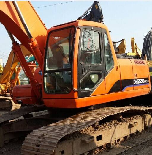 Used Excavator Daewoo DH220LC-V