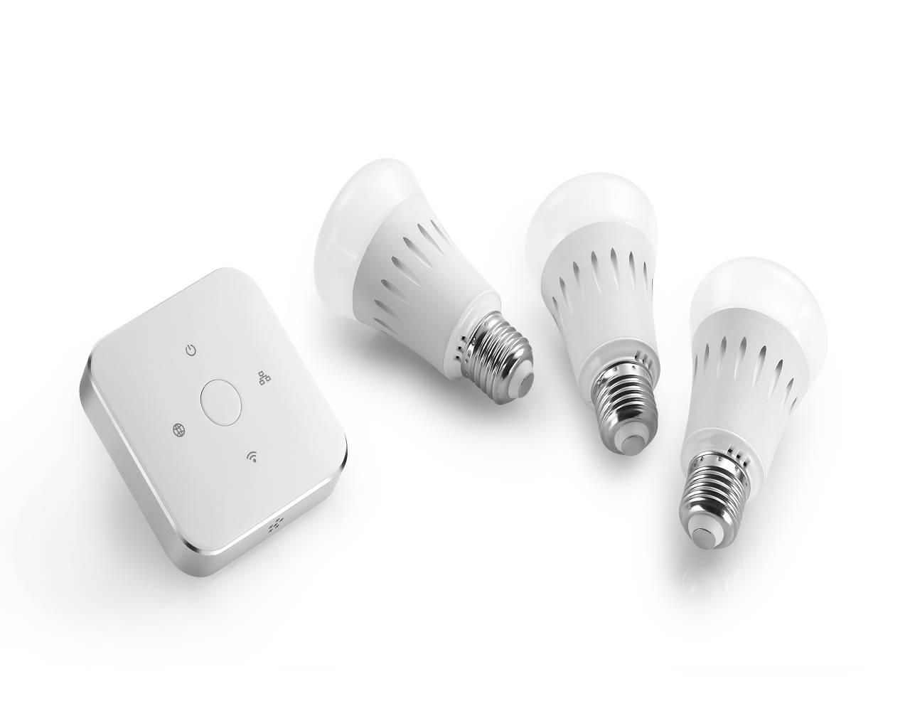 iHomeware Most Competitive Zigbee Smart Lighting System, Full Tunable White Smart LED Bulb, Eye prot