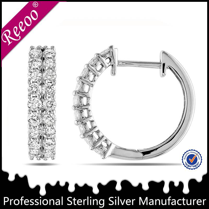 fashion earring 925 sterling silver jewelry factory wholesale price