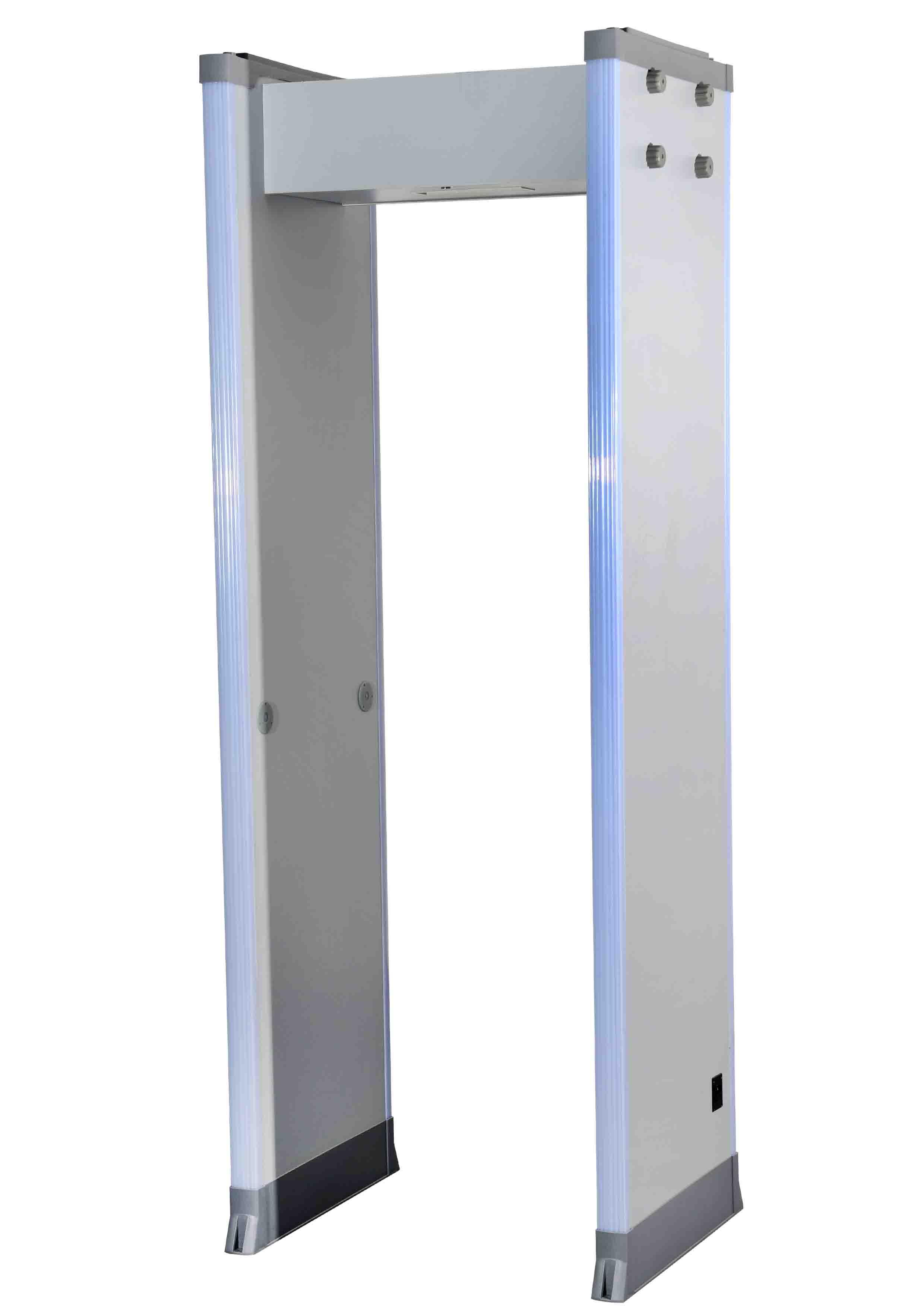 walk through metal security detector 18 Zones