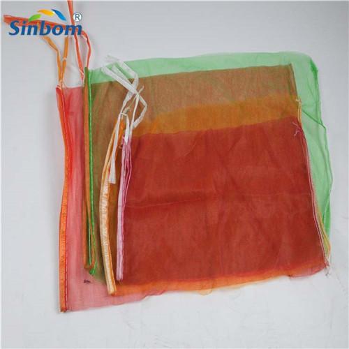 pe monofilament mesh net bags firewood mesh sacks